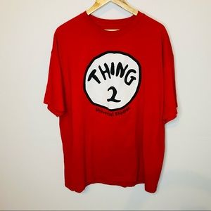 Thing 2 T-shirt Size XXL Cat in the HAT